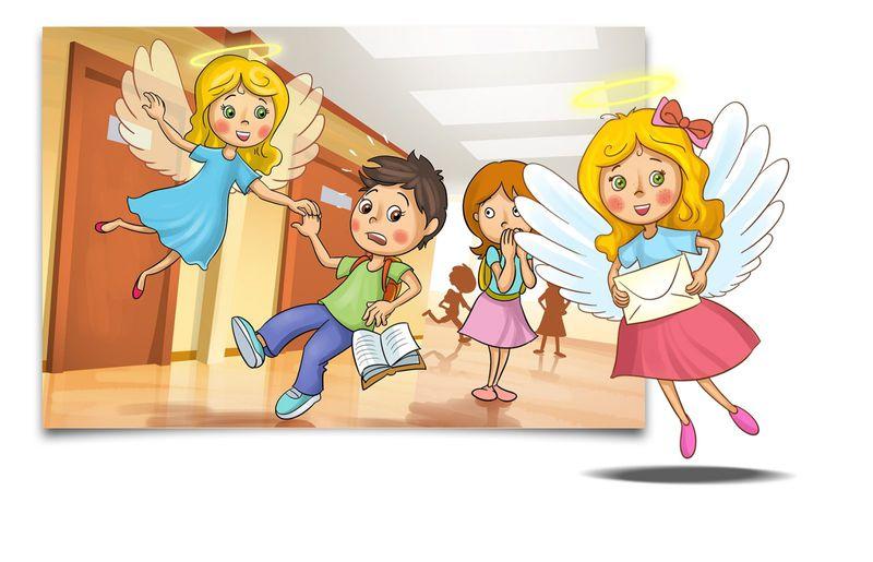 Post für Kinder Slider Engel Viss