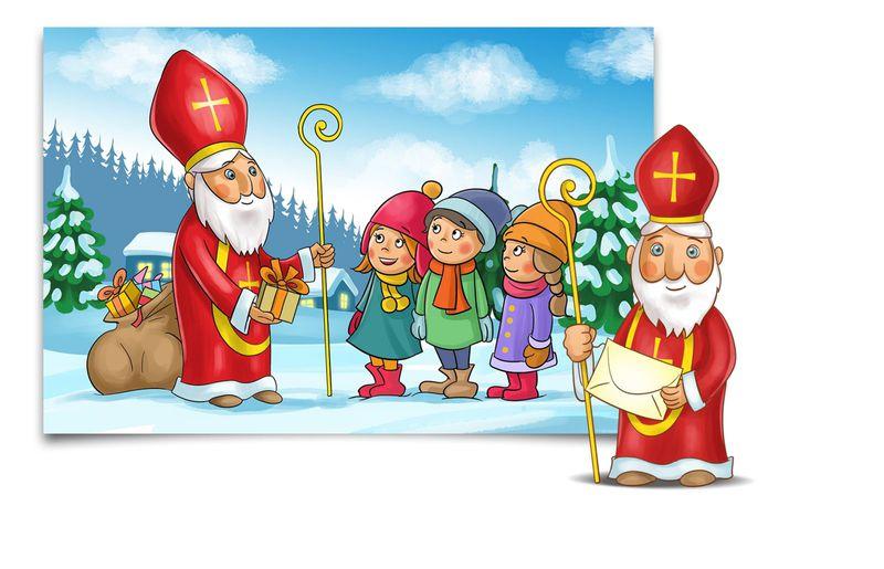 Post für Kinder Slider Nikolaus